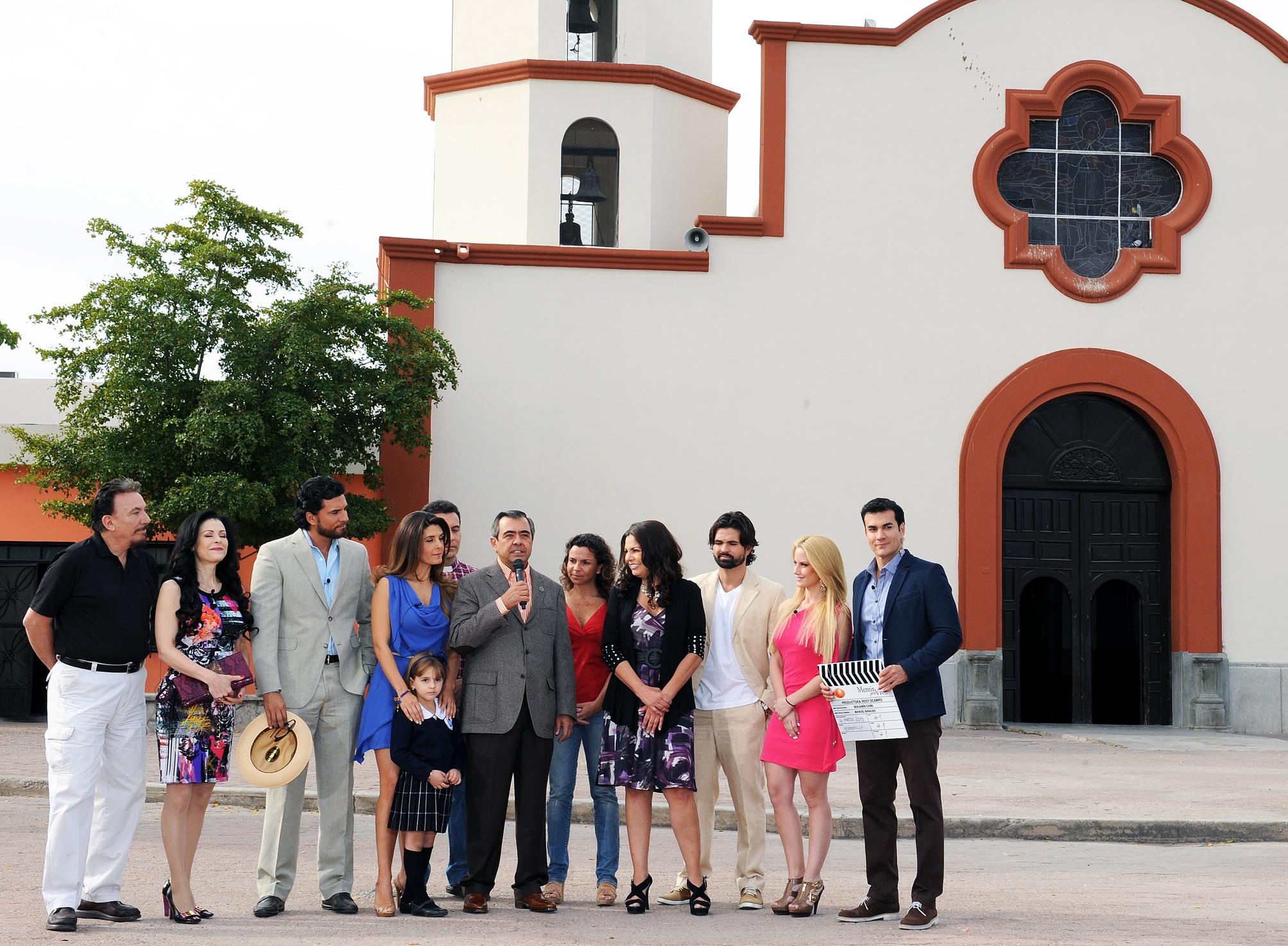 Televisa graba 'Mentir para Vivir' en Sonora